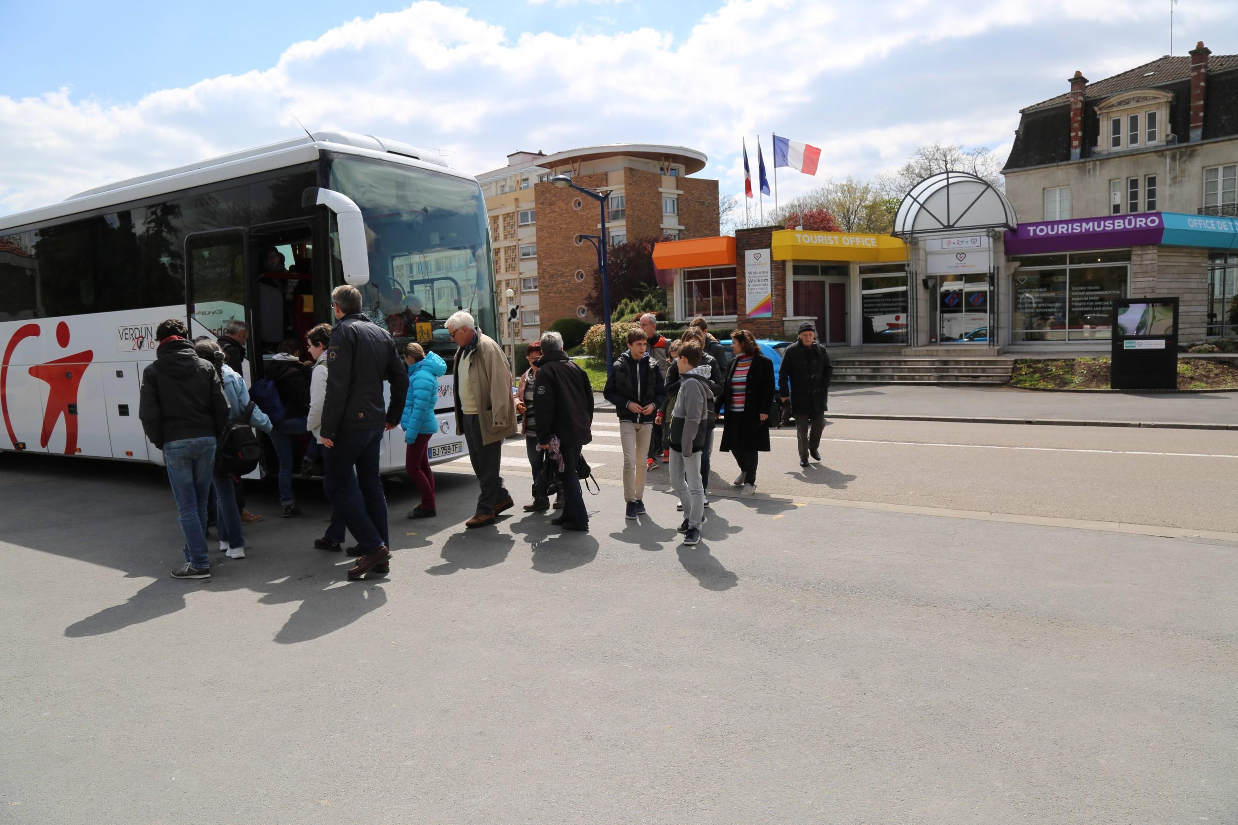 Visites guid es du champ de bataille tourisme verdun - Verdun office du tourisme ...